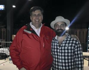 Me and Drew Holcomb